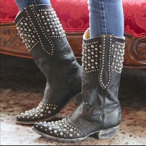 Old Gringo Shoes - Old gringo leigh Anne black boots
